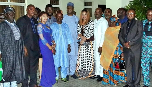 Saraki Meets Nollywood Stars, Doles Out Millions Of Naira For Ailing Actors (Photos)