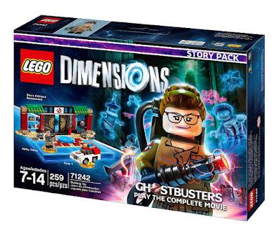 TOYS : JUGUETES - LEGO Dimensions  71242 Cazafantasmas | New Ghostbusters : Story Pack   Abby Yates - Ecto-1 - Restaurante Chino de Zhu  2016 VIDEOJUEGOS | Piezas: 259 | Edad: 7-14 años  Comprar en Amazon España & buy Amazon USA