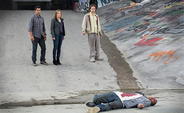 "Protagonistas de ""Fear the Walking Dead"" 1x01"