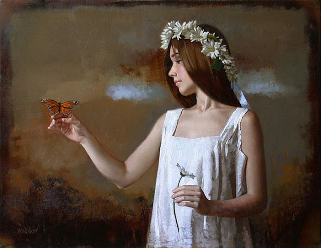 Gorgeous Figurative Paintings By William Whitaker