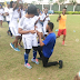 Nigerian Man Proposes To Girlfriend During A Football Match (Photos)