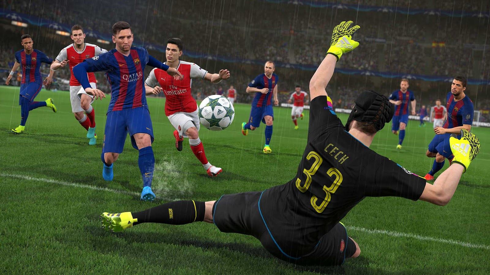 Download Latest PES 2017 ISO PSP File On Android - UcheTechs