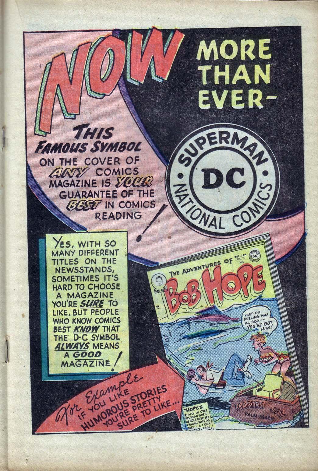 Read online Detective Comics (1937) comic -  Issue #190 - 23