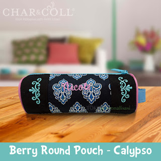 Berry Round Pouch - Calypso