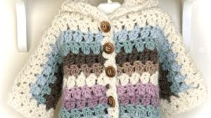 Abrigo + botas para bebe / Paso a paso crochet