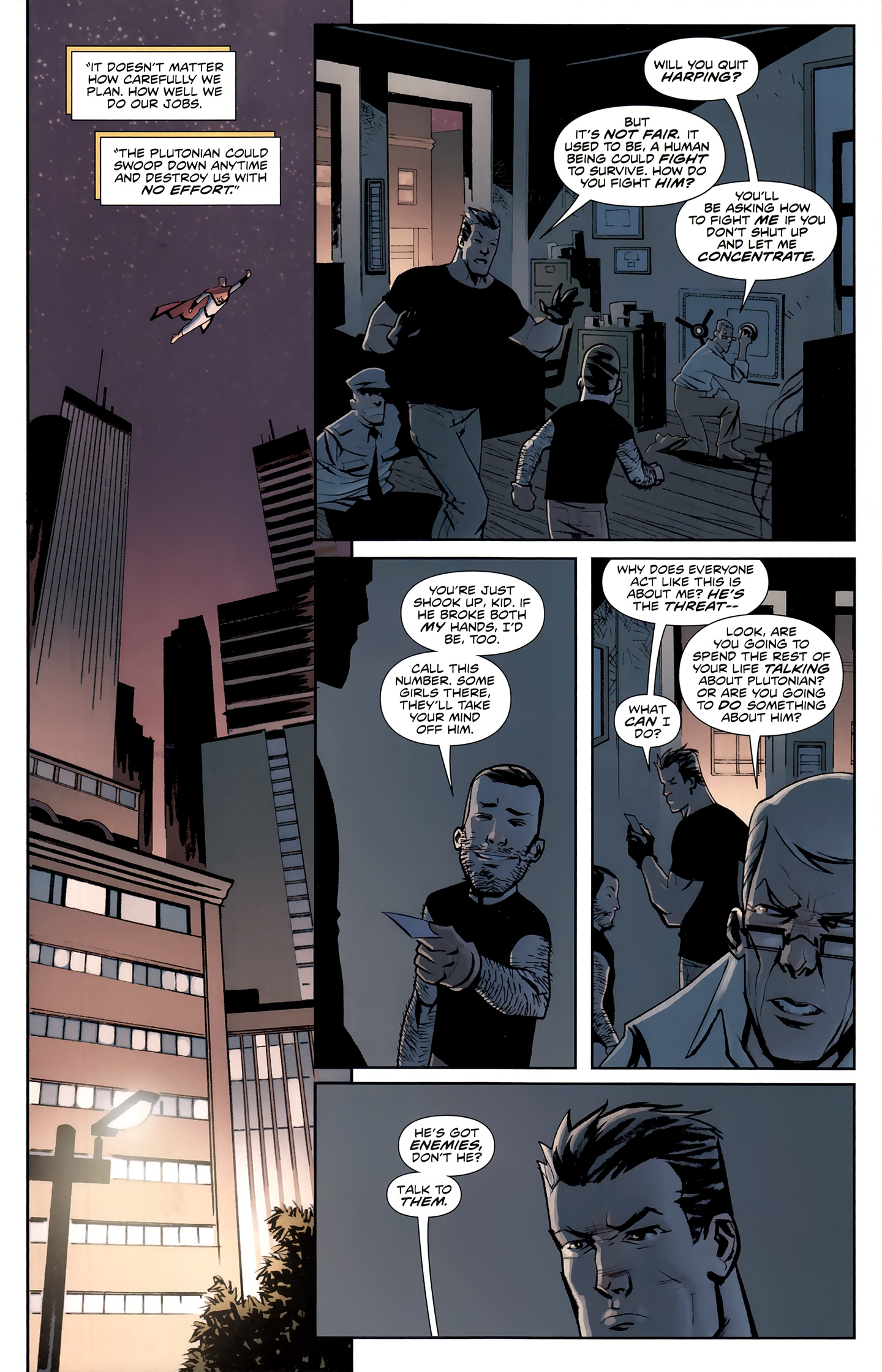 Read online Incorruptible comic -  Issue #26 - 4
