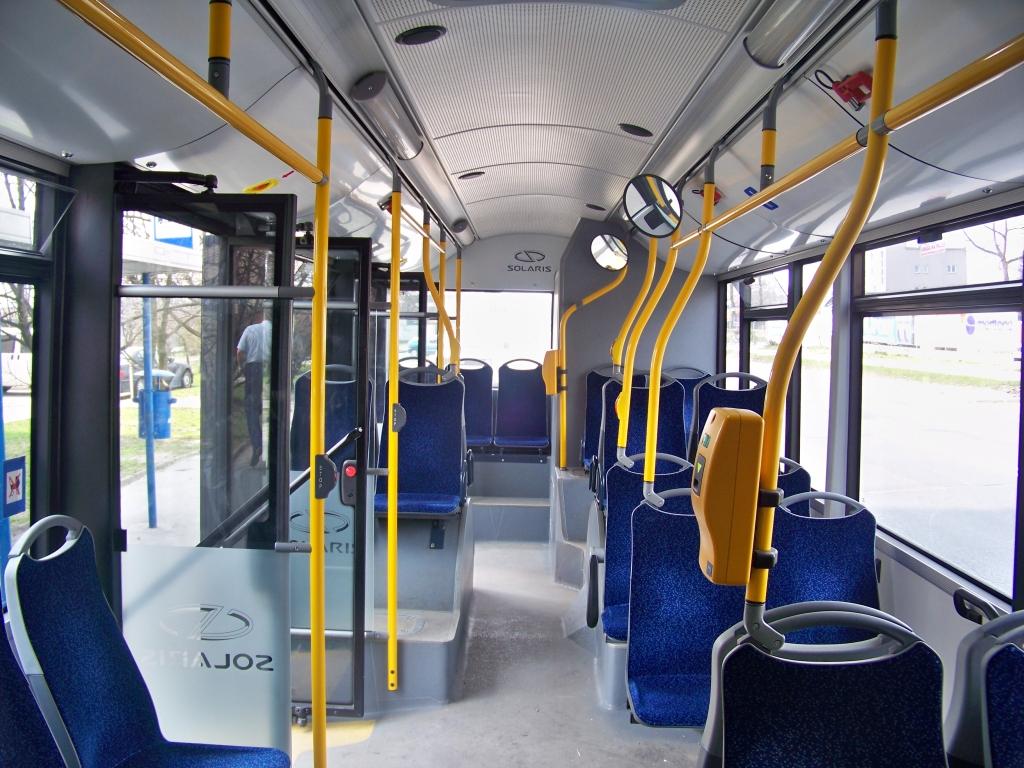 Solaris Urbino 18 Hybrid - Wnętrze Tył