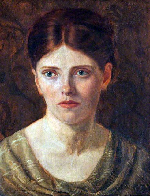 Isabella Frances Townshend, Self Portrait, Portraits of Painters, Isabella Frances, Fine arts, Portraits of painters blog, Paintings of Isabella Frances  Painter Isabella Frances Townshend