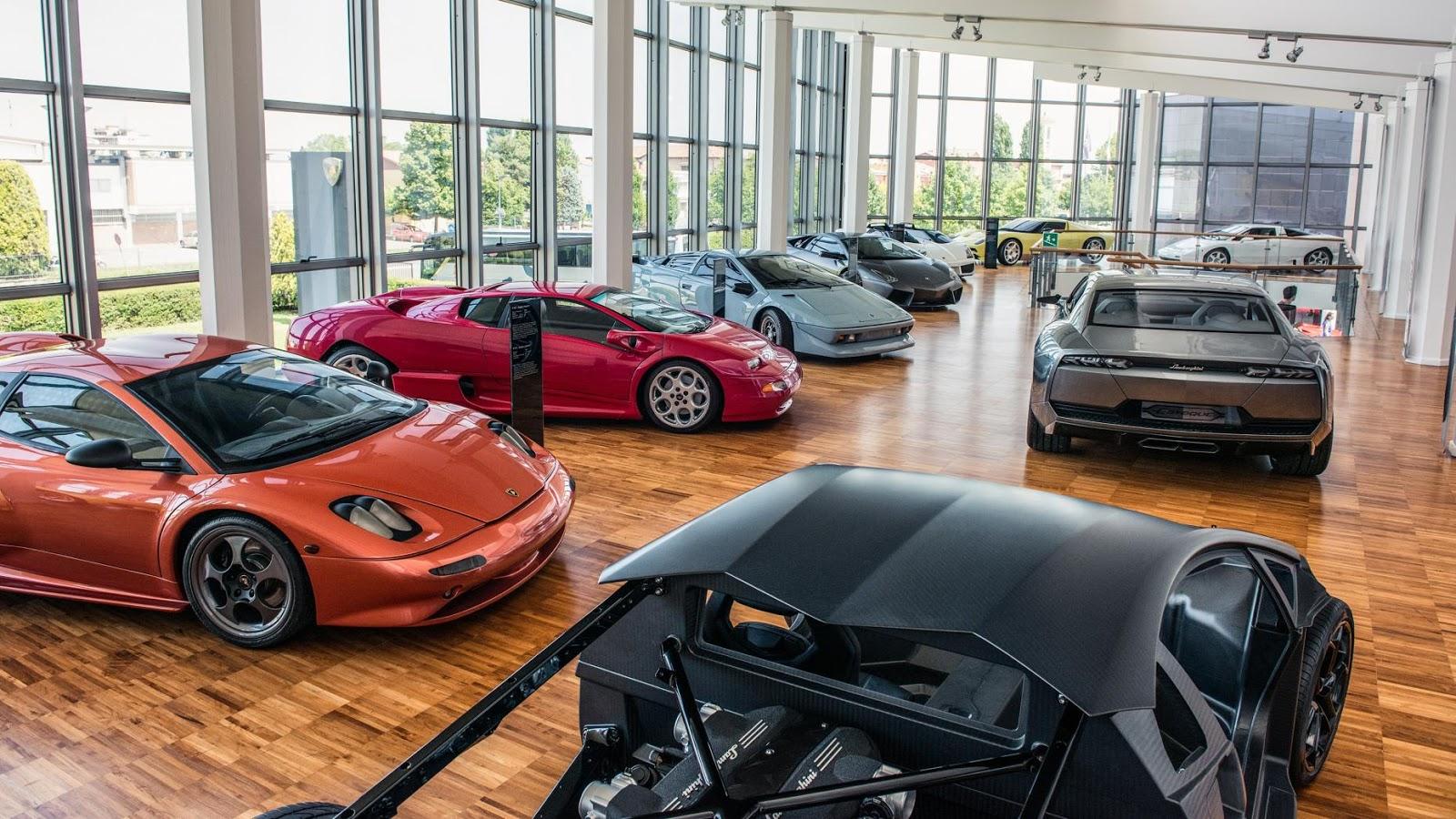 TOP siêu xe Lamborghini có thể bạn chưa bao giờ biết?