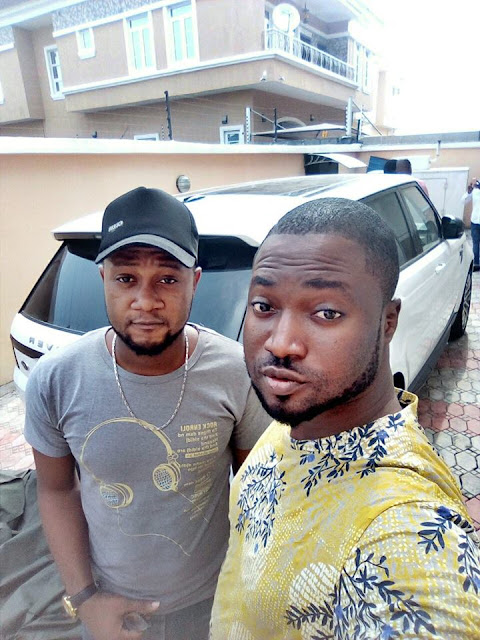 Two Internet Millionaires Adegboyega Owolabi And Sijibomi Ajayi Were Spotted With Range Rover Luxury SUV