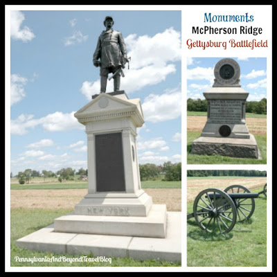 Touring the Civil War Monuments on McPherson Ridge - Gettysburg Battlefield