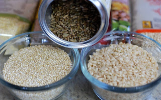 Cereales de grano, arroz y quinoa