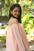 Rakul Preet Singh in lovely Pink Crop Top and Black Trousers at Jaya Janaki Nayaka success meet 042.JPG