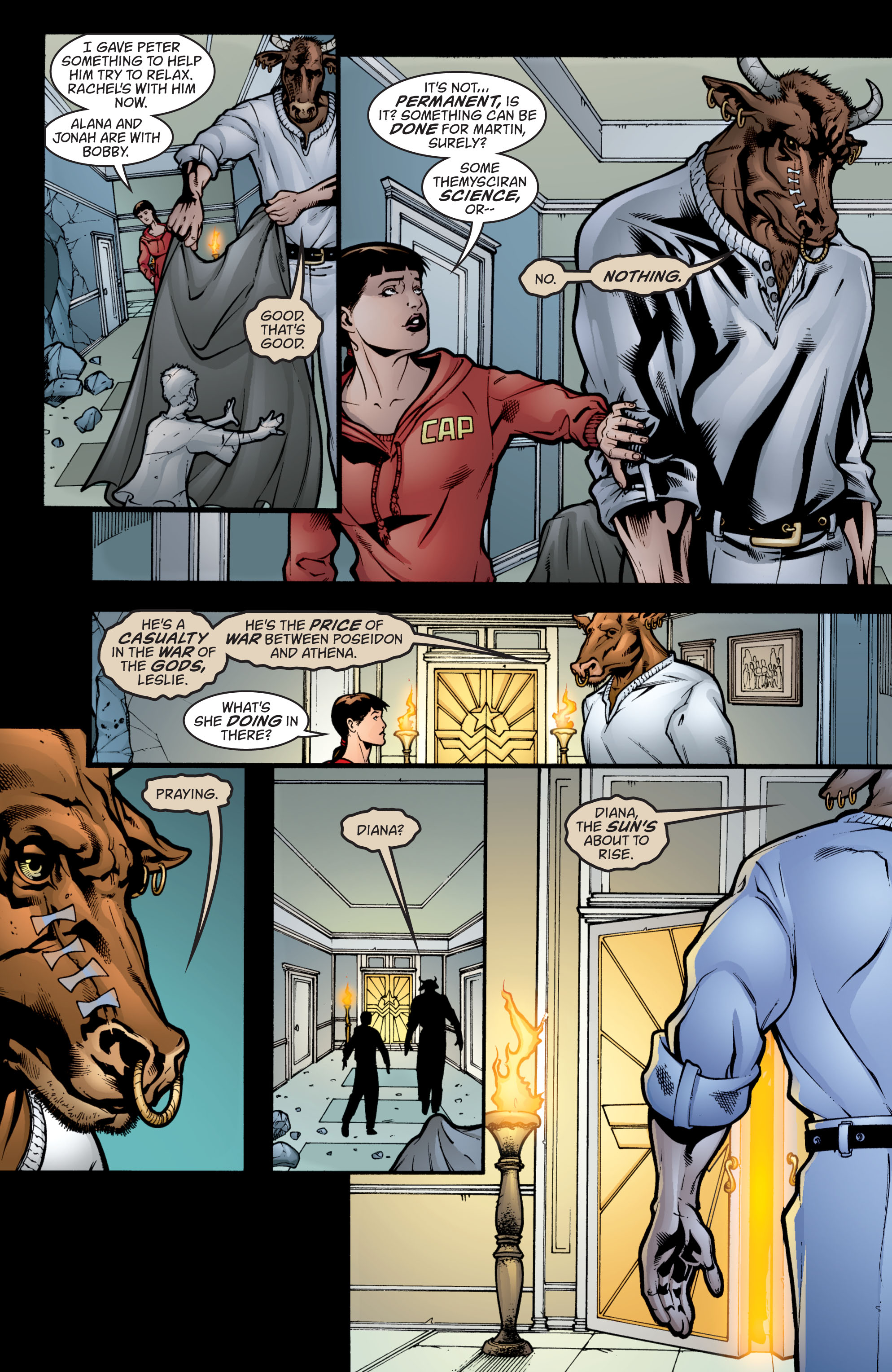 Read online Wonder Woman (1987) comic -  Issue #209 - 21