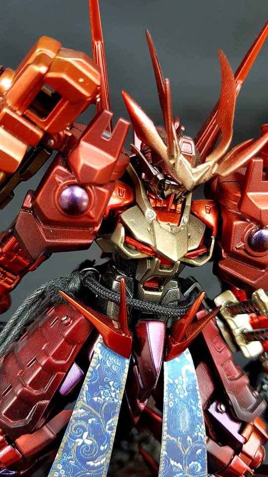 Custom Build: HG 1/144 Sengoku Astray Gundam + Diorama - Gundam Kits Collection News and Reviews