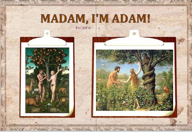 Madam, I'm Adam!'