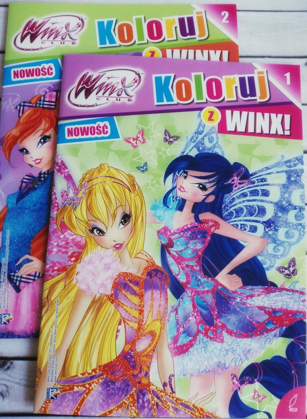Kolorowe zabawy z Winx