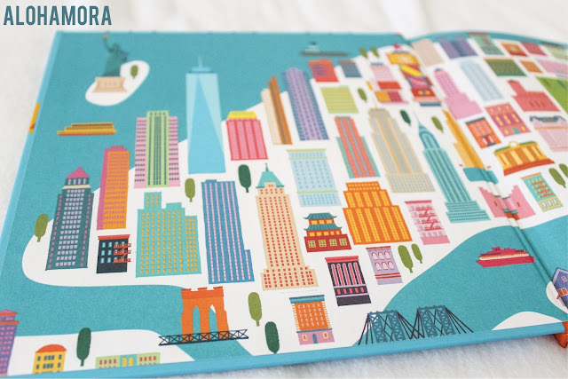 Come With Me to New York by Gloria Fowler and Illustrated by Min Heo is a great travel/tourist book for kids about New York City.  The book highlights all of the major sites and experiences has to offer, and the pictures/design of the book are amazing.  I love the design.  4/5 stars in my book review. picture book, travel, NYC, tourist, teachers lesson idea for writing, history, social studies.  Check the blog for more details. Alohamora Open a Book  http://alohamoraopenabook.blogspot.com/