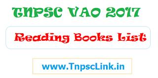 TNPSC VAO 2017