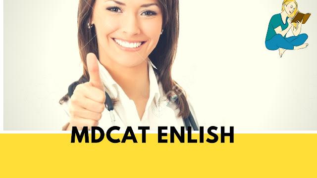 MDCAT English