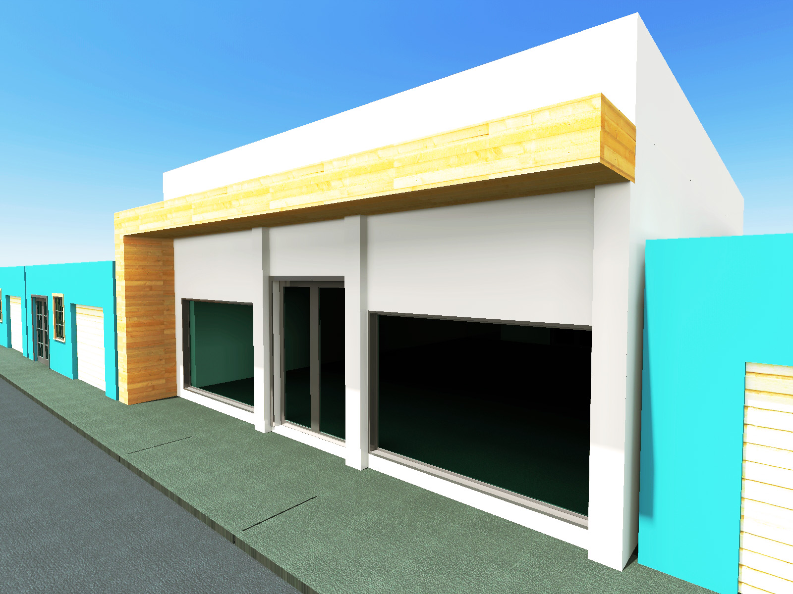 Local comercial hern ndez g g arquitectura y dise o for Local arquitectura