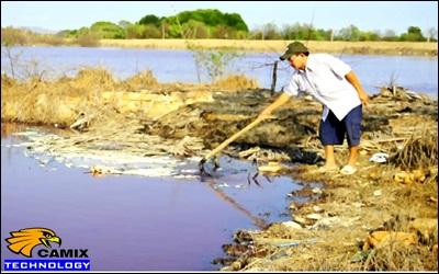 Công ty tư vấn thiết bị xử lý nước thải nhà máy thủy hải sản -  Nước sông Chà Và bị ô nhiễm nghiêm trọng