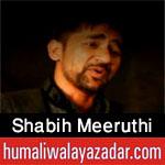 http://www.humaliwalayazadar.com/2016/10/shabih-meeruthi-nohay-2017.html