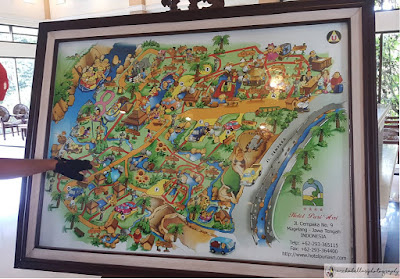 Peta kawasan hotel Puri Asri Magelang (Dok.pri)
