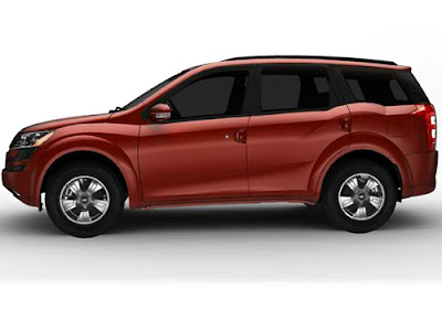New Mahindra XUV 500 Luxury SUV