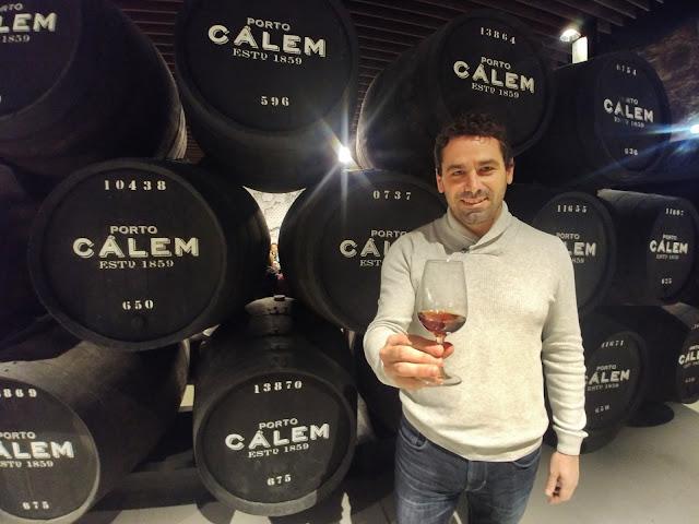 Bodega de vino Oporto