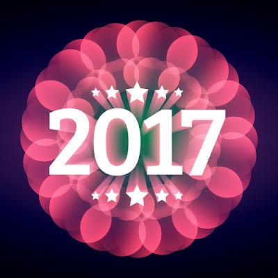 2017 New Year Illusion Wallpaper Free