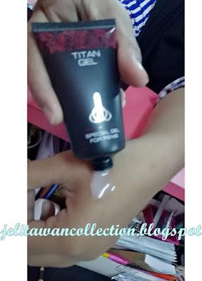 Cara Besar dan Panjangkan Zakar : Titan Gel