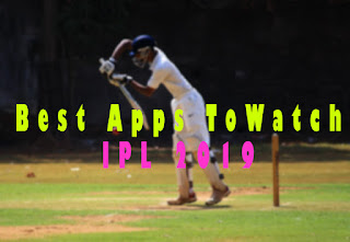 How To Watch IPL live Telecast on mobile for free - Best Apps To Watch IPL Telecast 2019