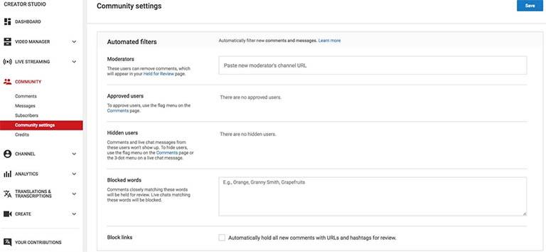 Cara Mudah Memblokir Komentar Spam Secara Otomatis Di Youtube