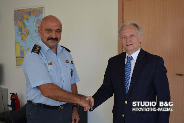 Επίσκεψη του Γιάννη Ανδριανού στην Αστυνομική Διεύθυνση  Αργολίδας