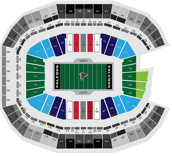 Mercedes-Benz Stadium Seating Capacity