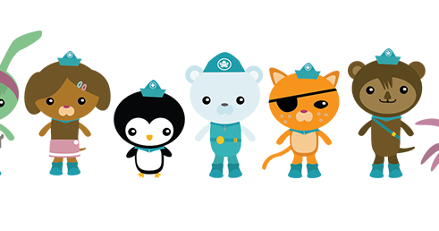 Mamma And Me Octonauts Characters For My Daughters