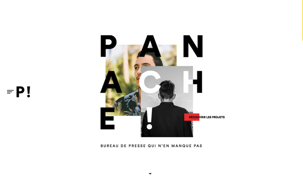 Trend and Inspiration Web Design 2018 - Panache!