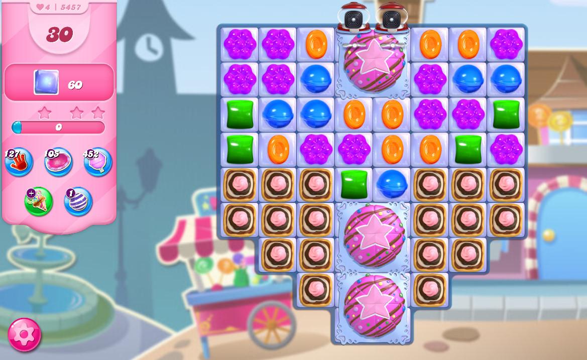 Candy Crush Saga level 5457