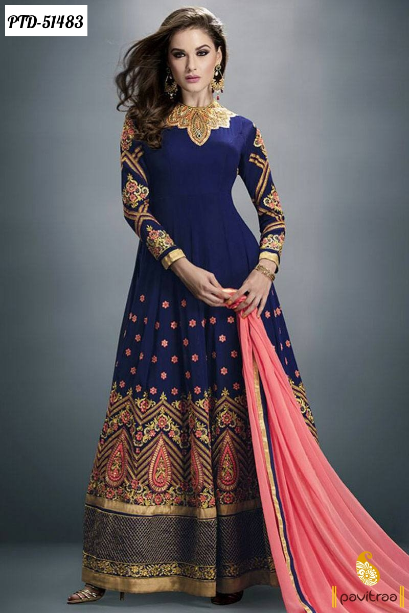 Designer Wedding And Party Wear Indian Punjabi Patiala ...