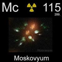 Moskovyum elementi simgesi Mc