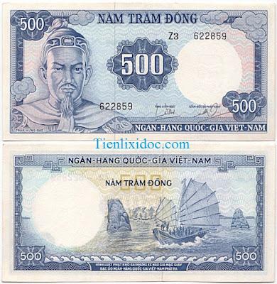 500 đồng việt nam cộng hòa 1966