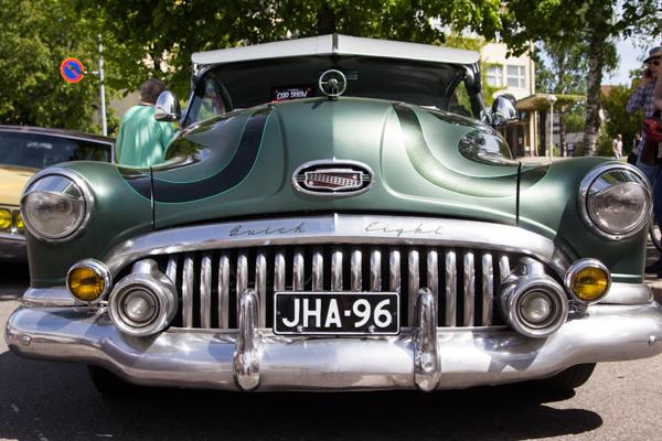 PauMau blogi nelkytplusbloggari nelkytplus kerava tribute to sherwood festival vihreä jenkkiauto autonäyttely buick eight