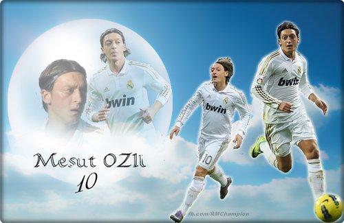 "Mezut Ozil Real Madrid ""Wallpaper"" 2012"