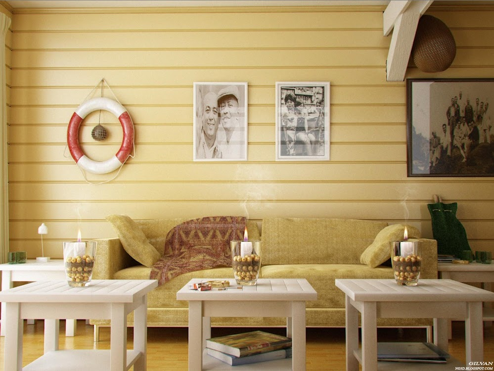 Yellow-Panel-Living-Room