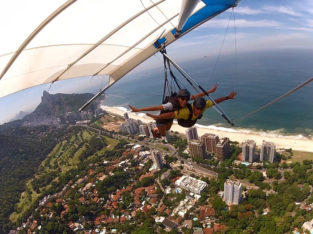 Dianamiaus en Ala Delta en Rio de Janeiro Brasil con GoPro