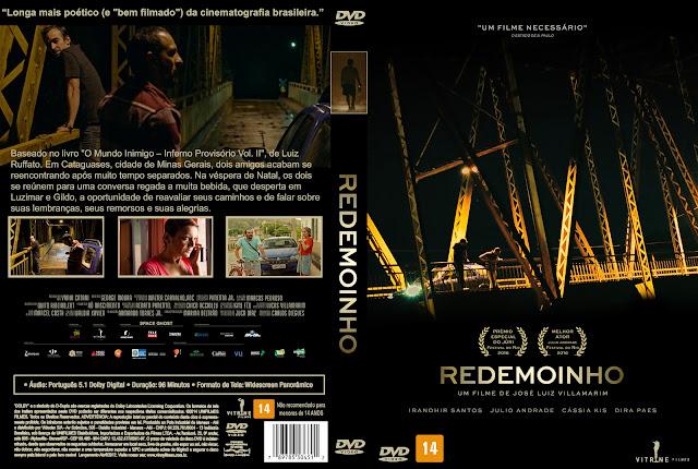 Capa DVD Redemoinho