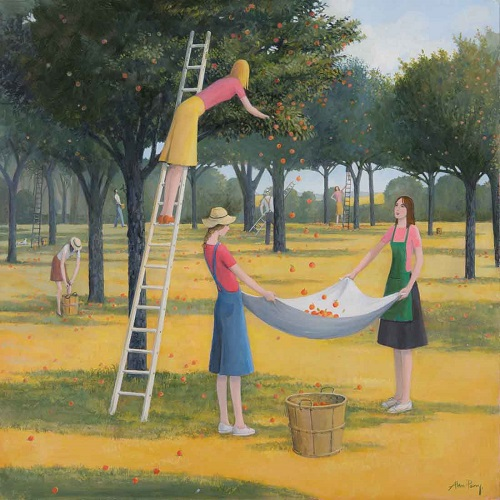 """Cider Apples Harvest"" by Alan Parry - 2018 