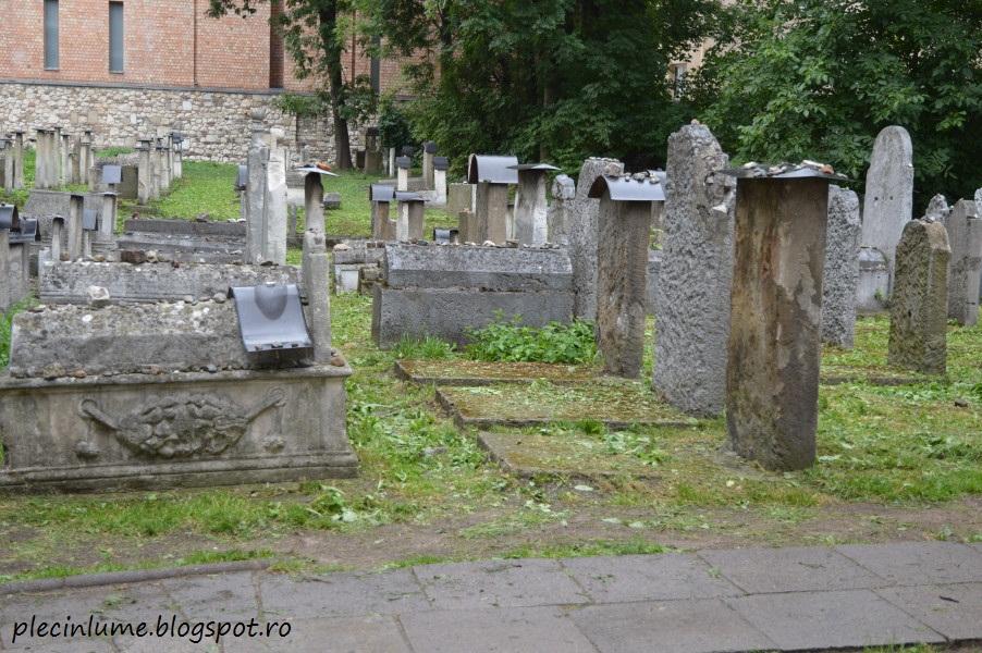 Cimitir evreiesc in Cracovia