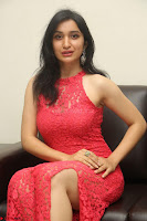 Sakshi Kakkar in Red Legsplit Sleeveless Gown at Dare movie Press meet ~  Exclusive 088.JPG